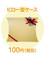 ピロー型ケース 100円(税別)